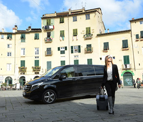 Chauffeur in Tuscany